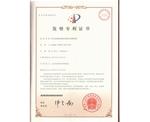 """发明""""静电衰减性能测试的静电探测装置""""专利证书"""